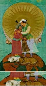 380px-Jahangir's_dream-Abu'l_Hasan-c.1618-22 copy