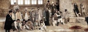 "Jahangirkhan Sur-e Esrafil, Nasrollah Malek-Al-Motekallemin - 24 June 1908 - Bagh-e Shah, Tehran  From ""By An Eye-Witness"" Series | Azadeh Akhlaghi"