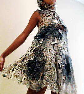 Silver Moon Dress by Gabbeh