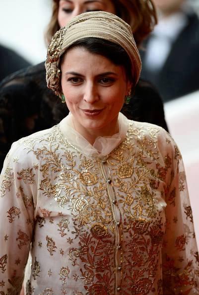 Leila Hatami Cannes 2014