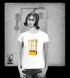 phone booth tshirt