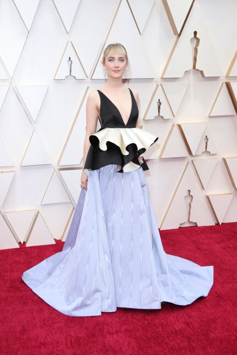 Saoirse Ronan wears Gucci for the 2020 Oscars in Hollywood